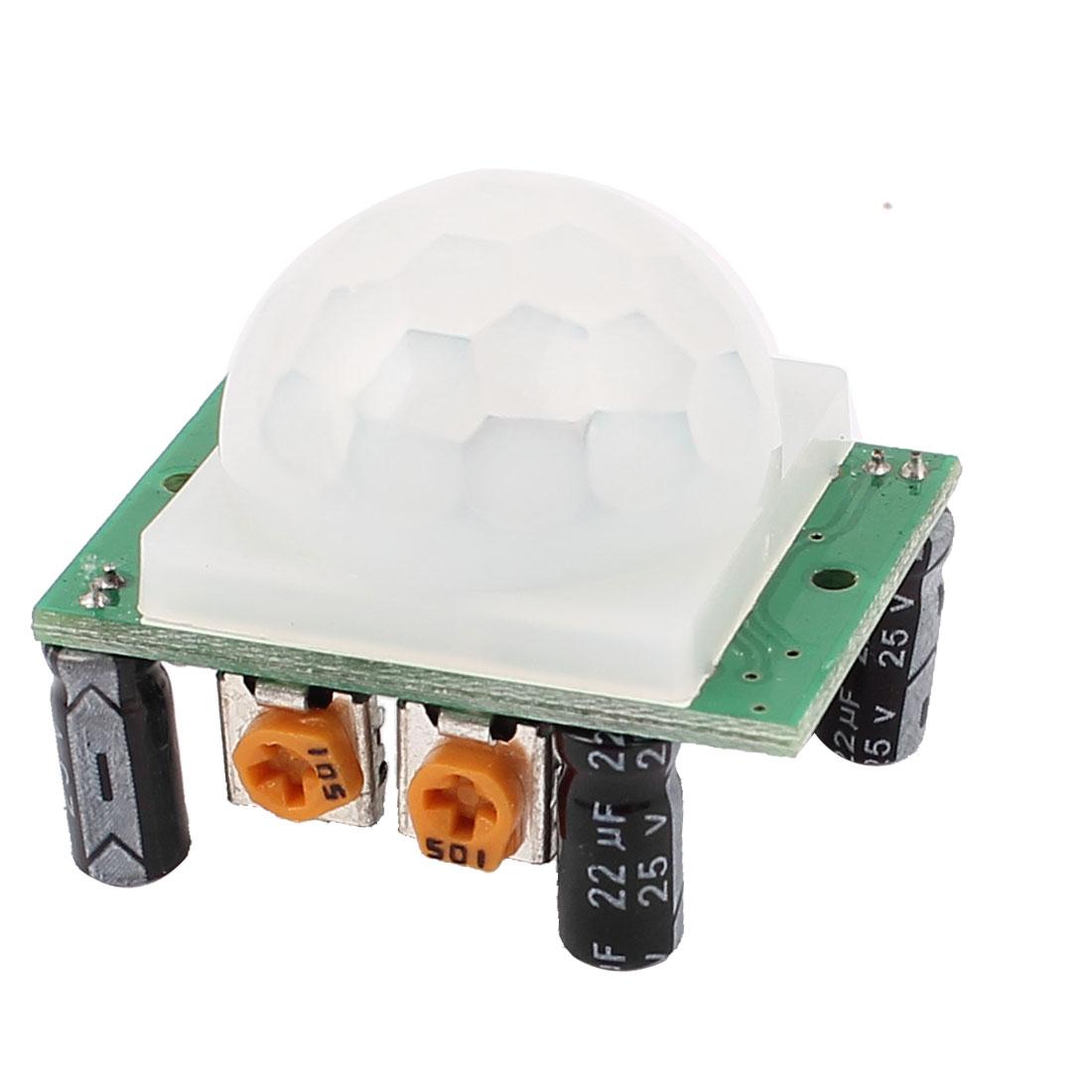 Adjust IR Infrared IR PIR Motion Human Sensor Detector Module HC-SR501