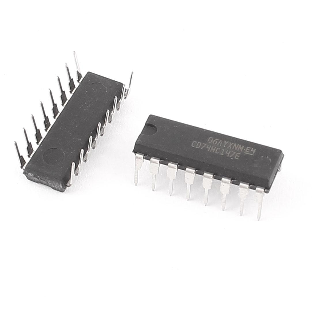 CD74HC147E/74HC147 Dip-16 PCB 10 Line To 4 Line Priority Encoder 2pcs