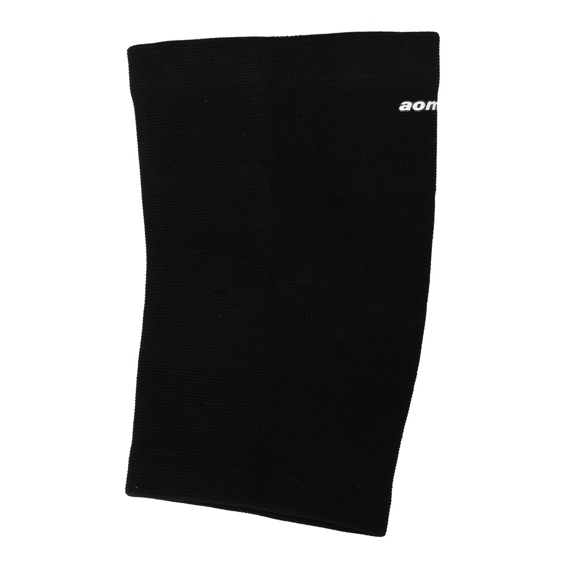 Outdoor Sport Pullover Stretchy Knee Sleeve Wrap Support Protector Black