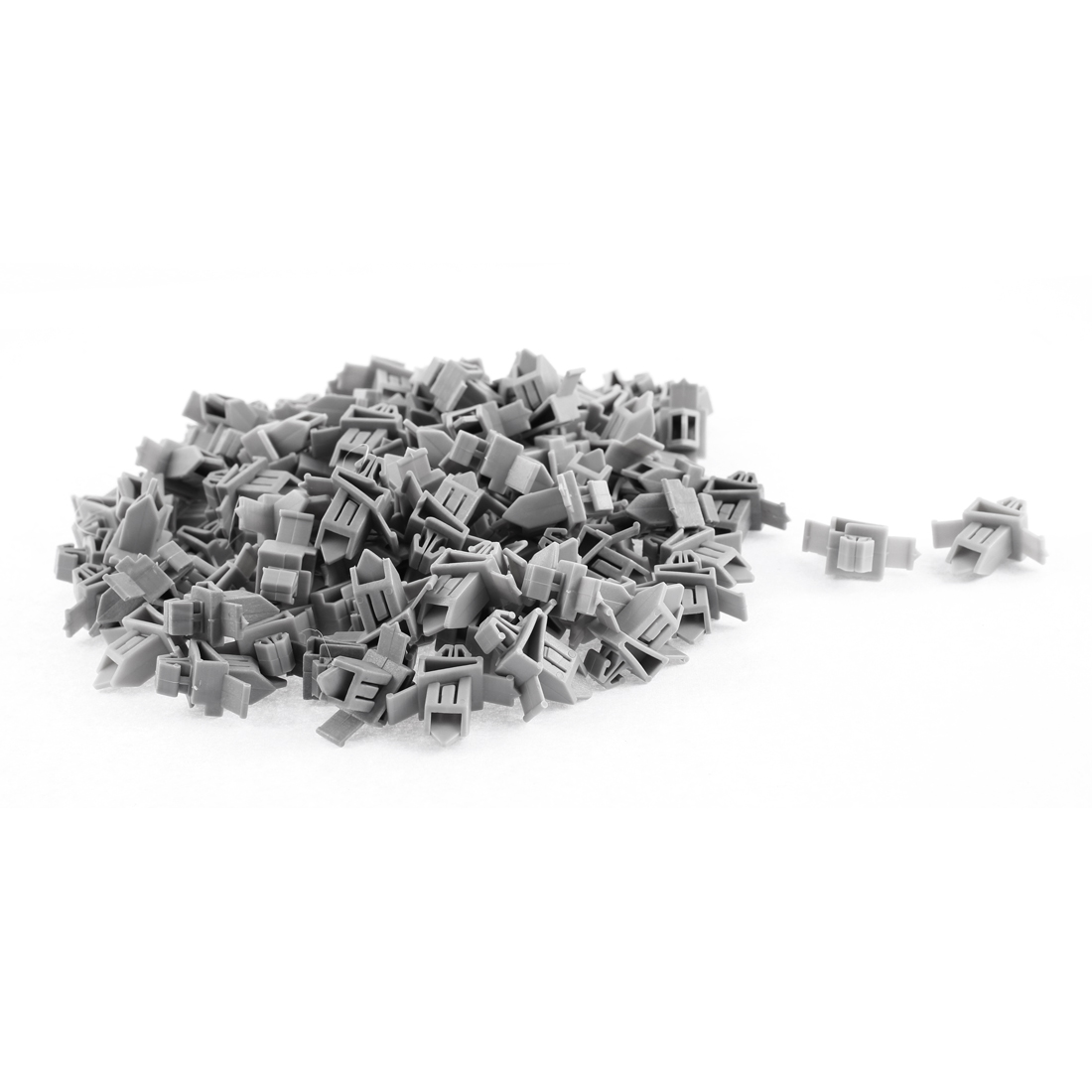 100 Pcs Gray Plastic Rivet Bumper Lining Trim Panel Retainer Fastener Clips for Toyota Prado