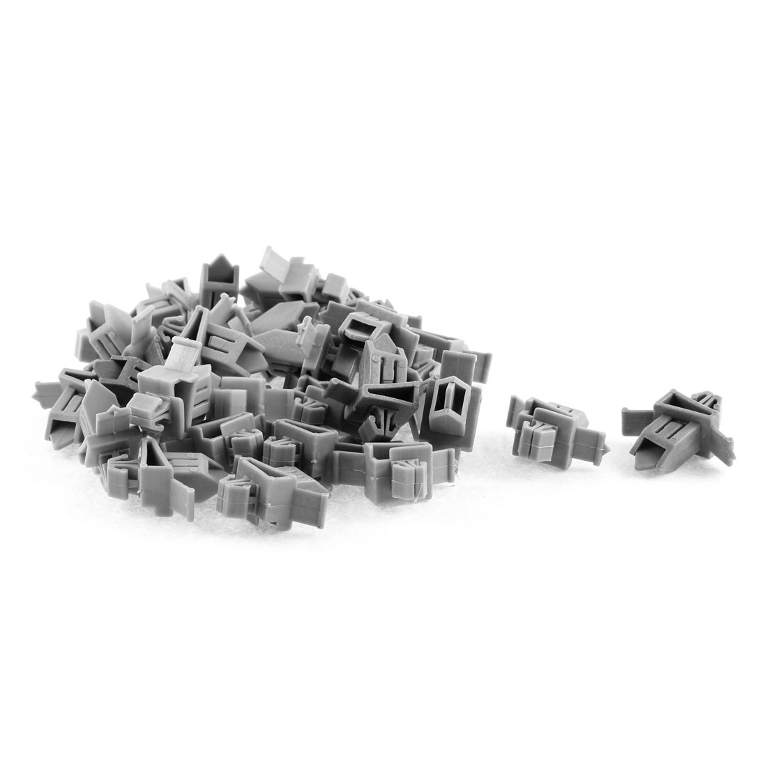 30 Pcs Gray Plastic Rivet Bumper Lining Trim Panel Retainer Fastener Clips for Toyota Prado