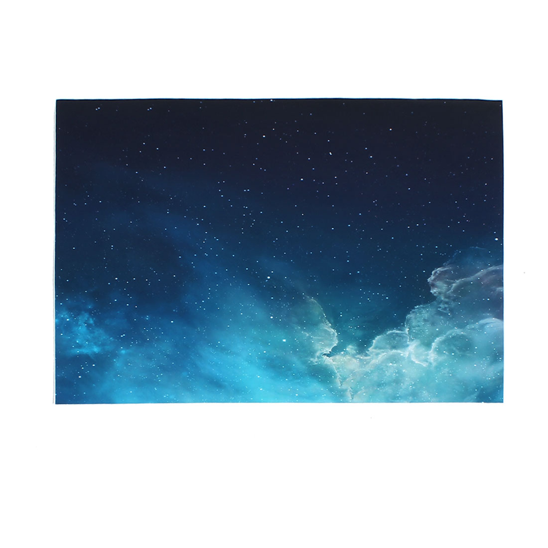 "Blue Night Sky Pattern Self-adhesive Sticker Decor Decal for 15"" 15.4"" 15.6"" Notebook Laptop"