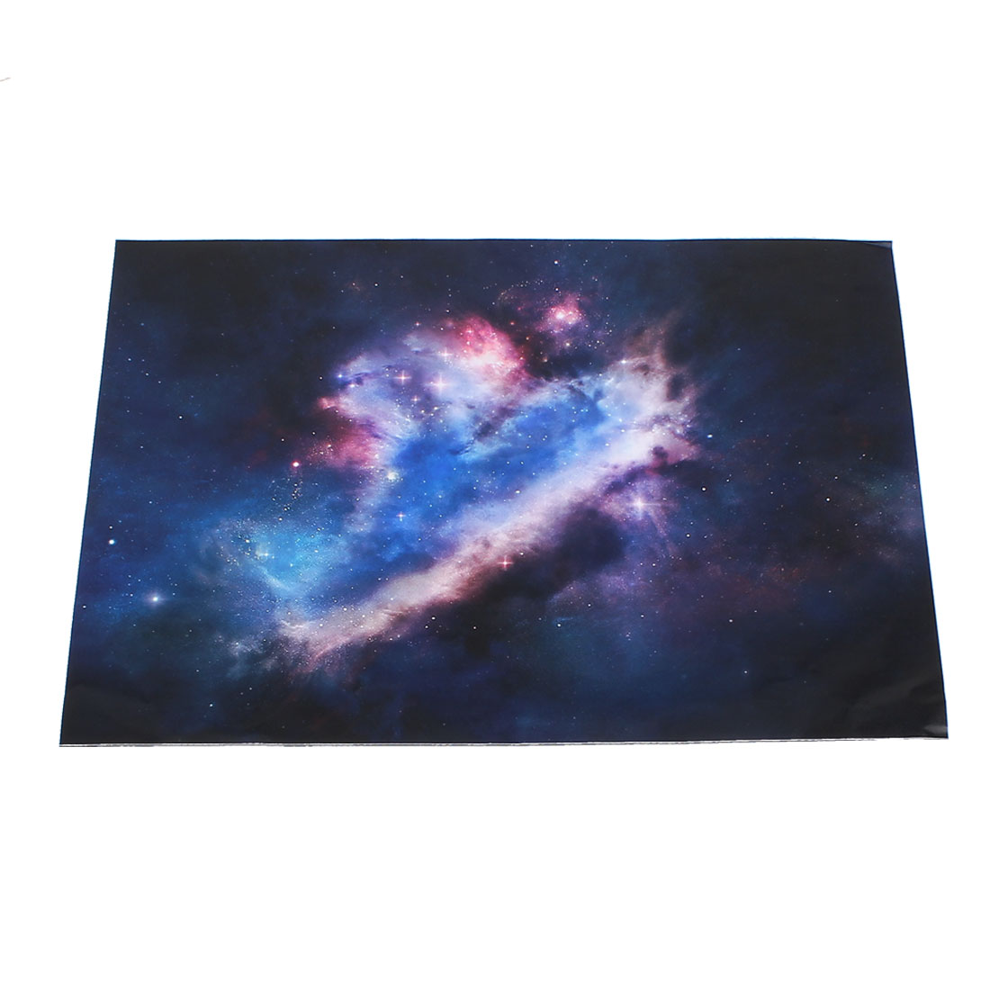 "Pink Blue Nebula Printed Self-adhesive Decal Sticker Decor for 15"" 15.4"" 15.6"" Laptop Notebook"