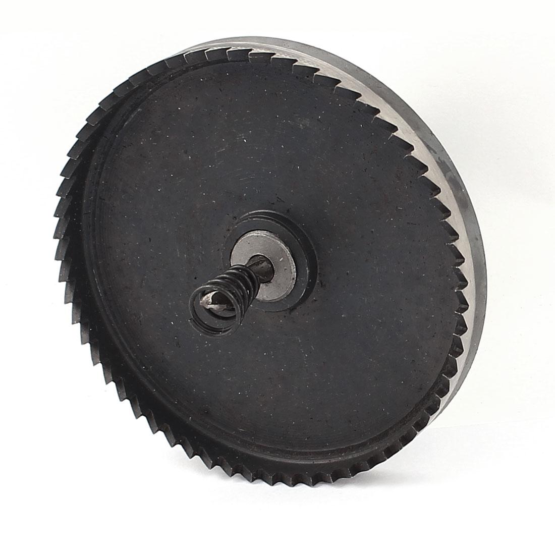 95mm Cutting Dia 12mm Triangle Shank Twist Drill Bit HSS Hole Saw Cutter for Metal Iron Steel