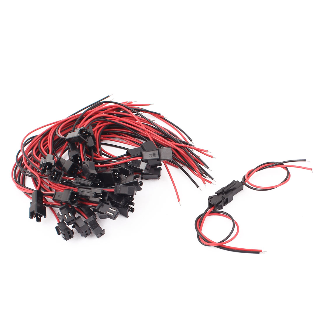 20Pairs JST SM 2P Female to Male Single Head RC Battery Connector Cable Wire 15cm Long