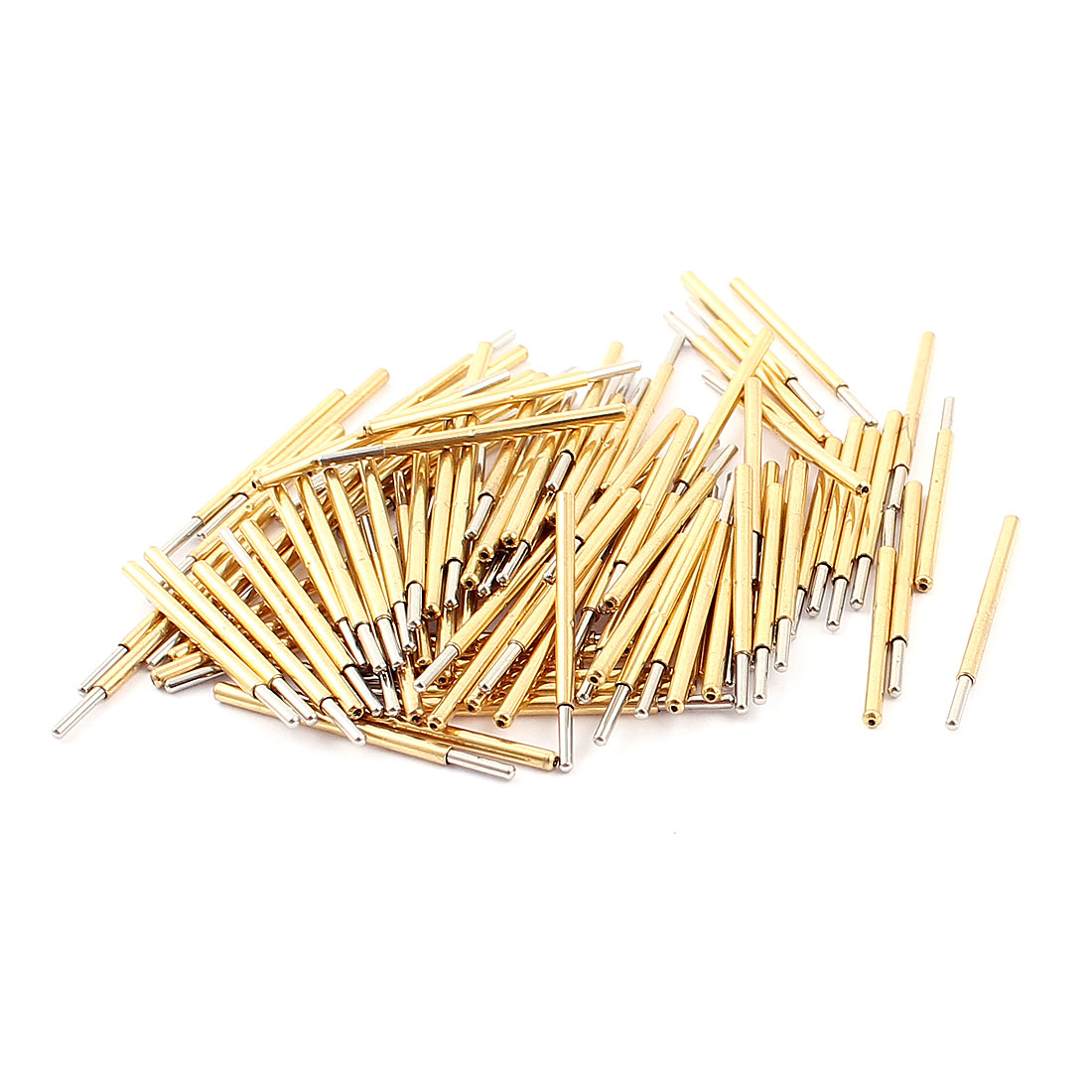 100Pcs P160D 1mm Dia Spherical Tip Spring Loaded Test Contact Testing Probes Pin 23mm