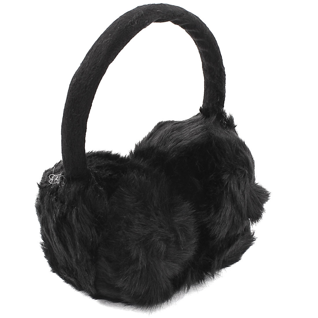Woman Lady Winter Soft Plush Earmuffs Ear Warmers Earlap Headband Black