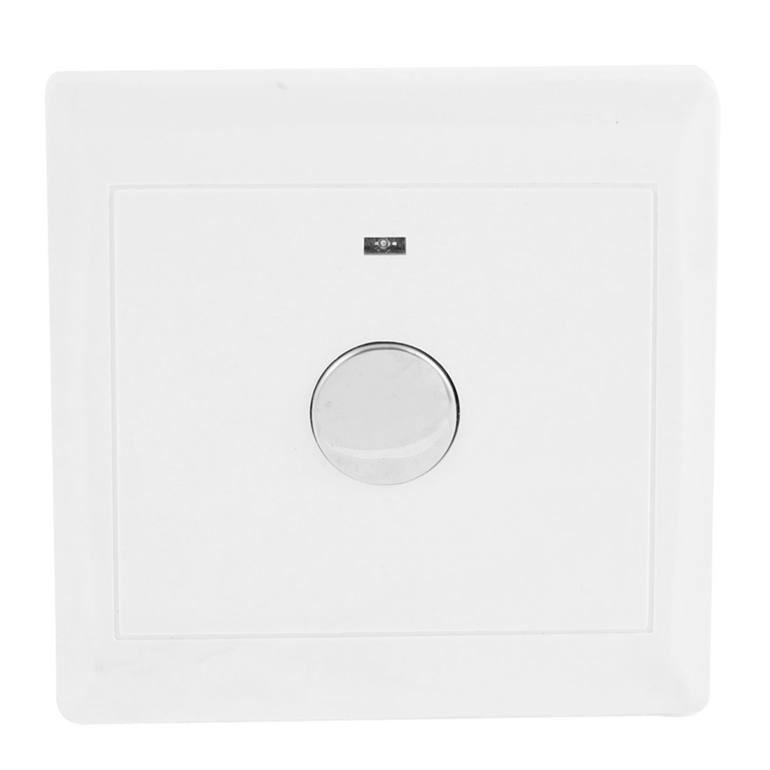 8.6mm x 8.6mm White Plastic Wall Mounted Energy Saving Touch Sensor Time Delay Switch AC 220V