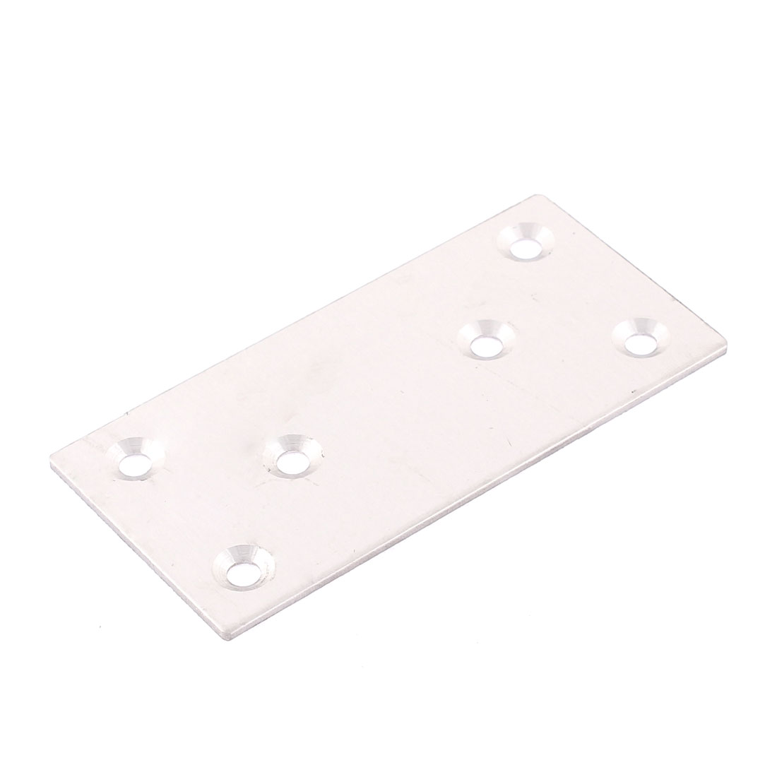 100 x 50mm Straight Flat Mending Repair Fixing Plate Joining Support