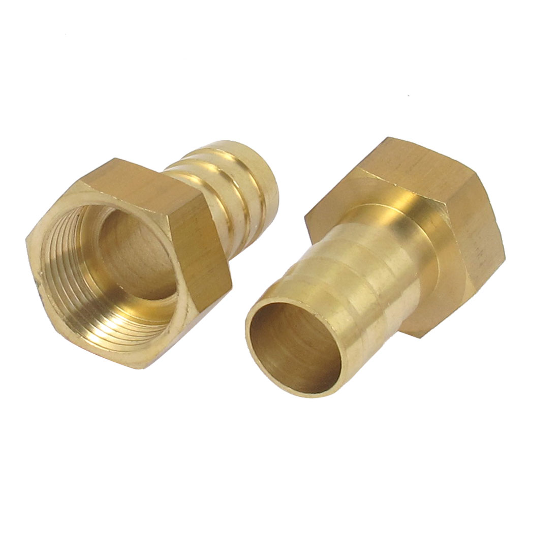 Brass 19mm Hose Barb 3/4BSP Female Thread Quick Joint Connector Adapter 2PCS