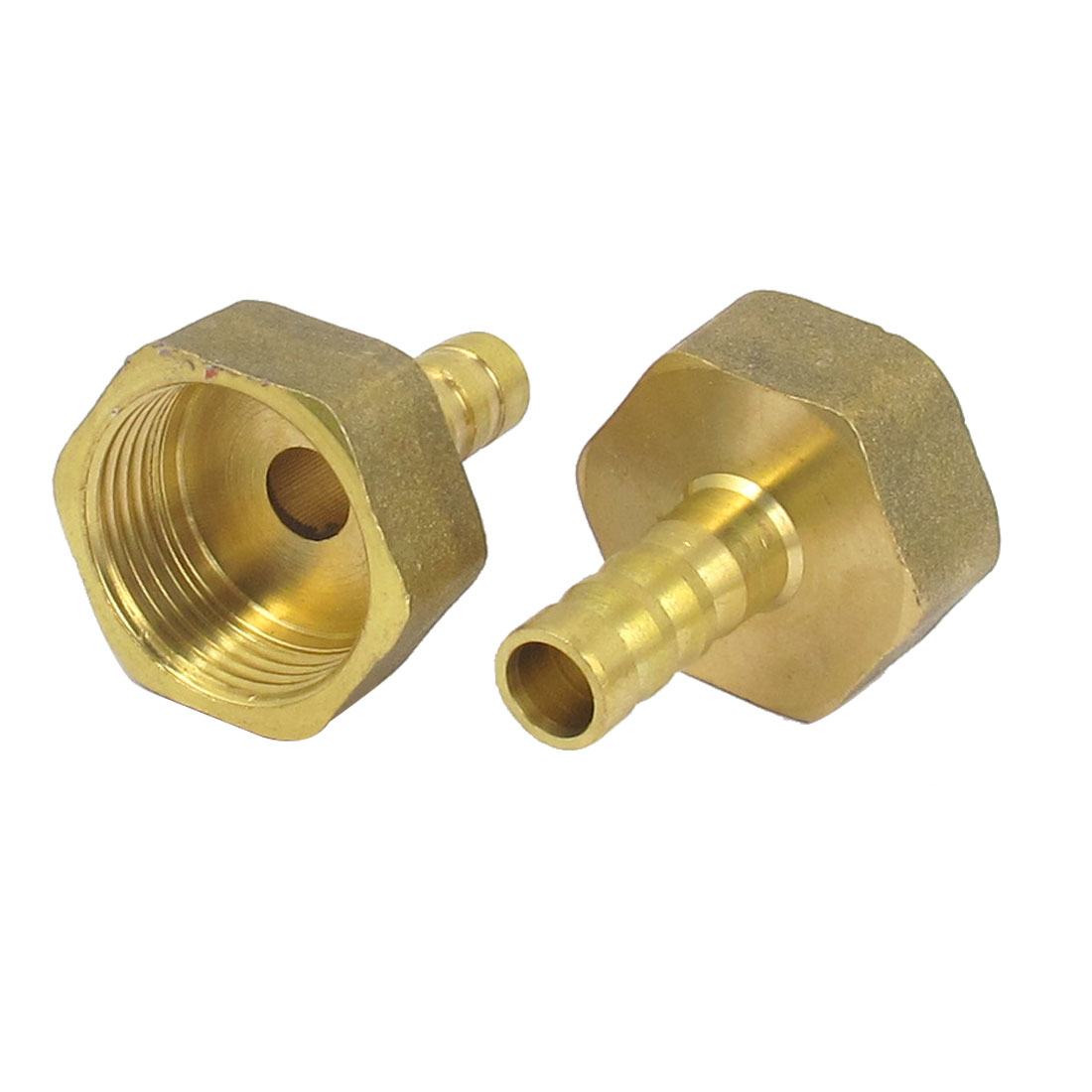 Brass 10mm Hose Barb 3/4BSP Female Thread Quick Joint Connector Adapter 2PCS
