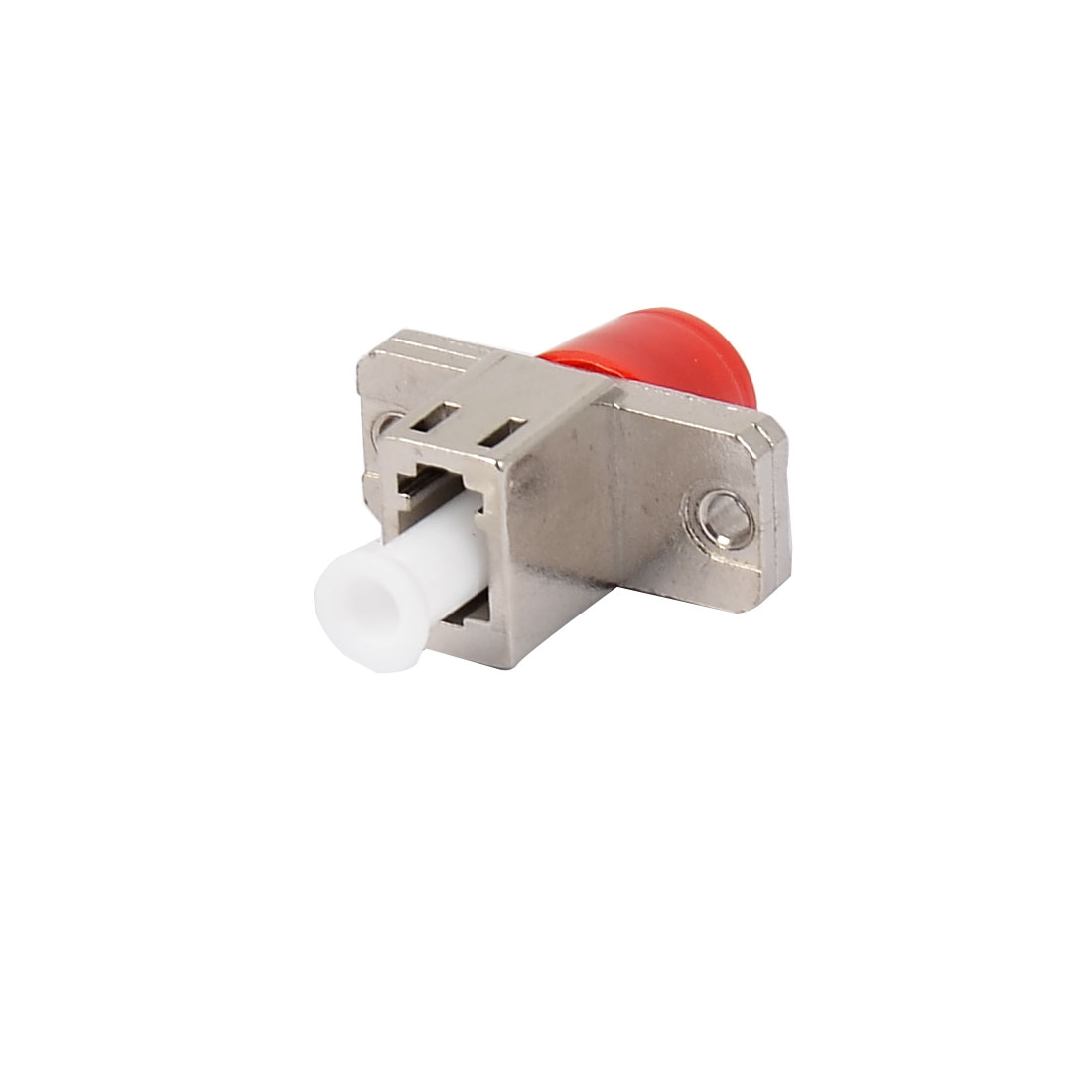 FC-LC Flange Fiber Cable Optical Optic Connector Adapter