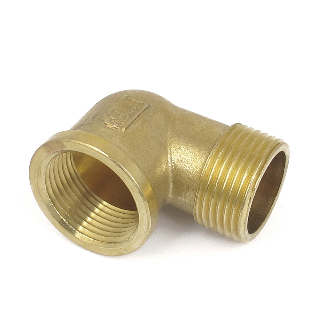 Brass 90 Degree 1BSP Male to Female Elbow Connector Coupler Fitting Adapter
