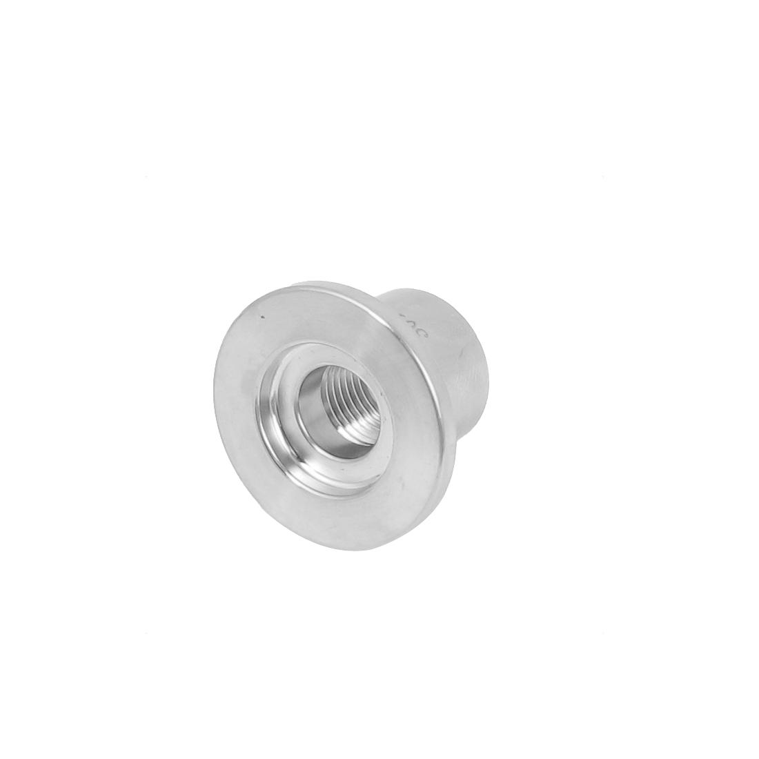304 Stainless Steel Vacuum KF16 Flange 1/4BSP Female Thread Adapter