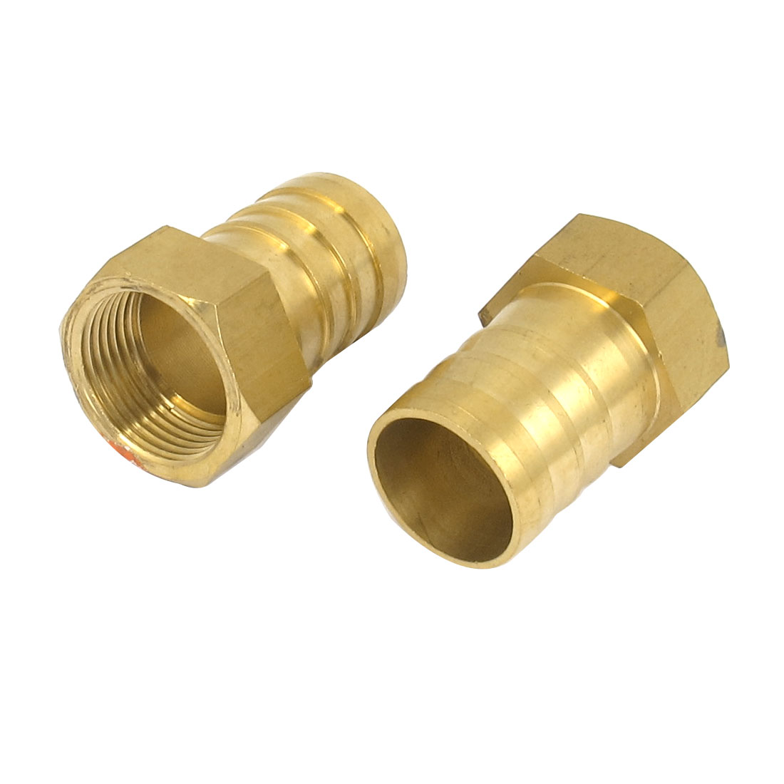 Brass 25mm Hose Barb 3/4BSP Female Thread Quick Joint Connector Adapter 2PCS