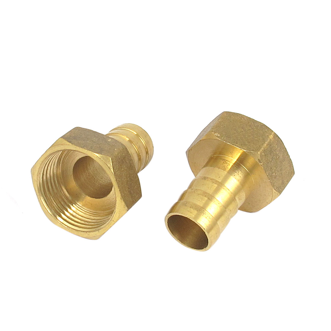 Brass 16mm Hose Barb 3/4BSP Female Thread Quick Joint Connector Adapter 2PCS
