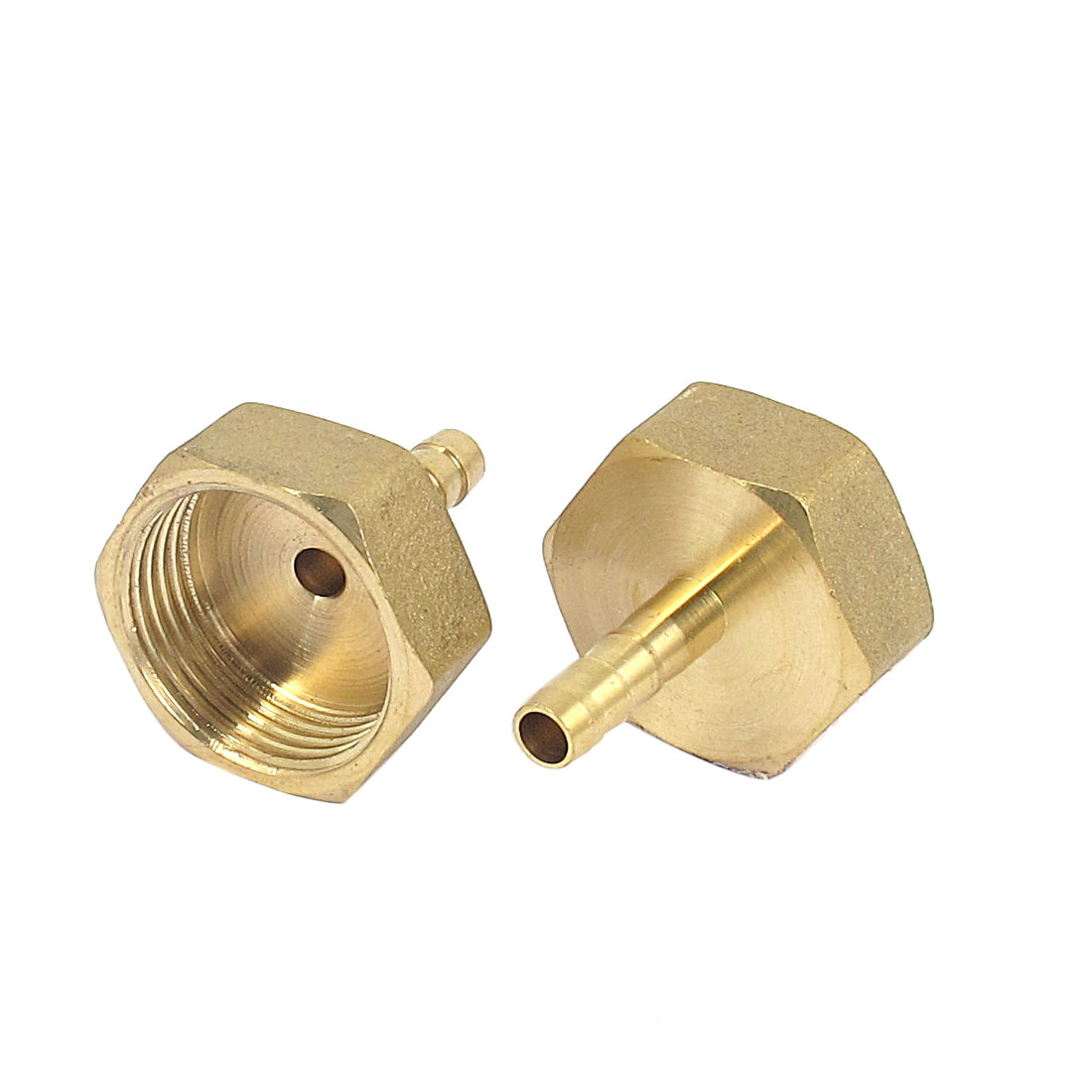 Brass 6mm Hose Barb 3/4BSP Female Thread Quick Joint Connector Adapter 2PCS