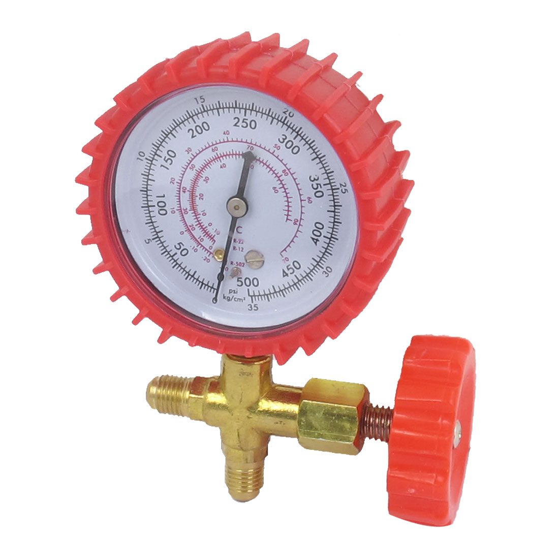 1/4BSP Male Threaded 2 Way Valve Single Manifold Gauge 500psi Replacement