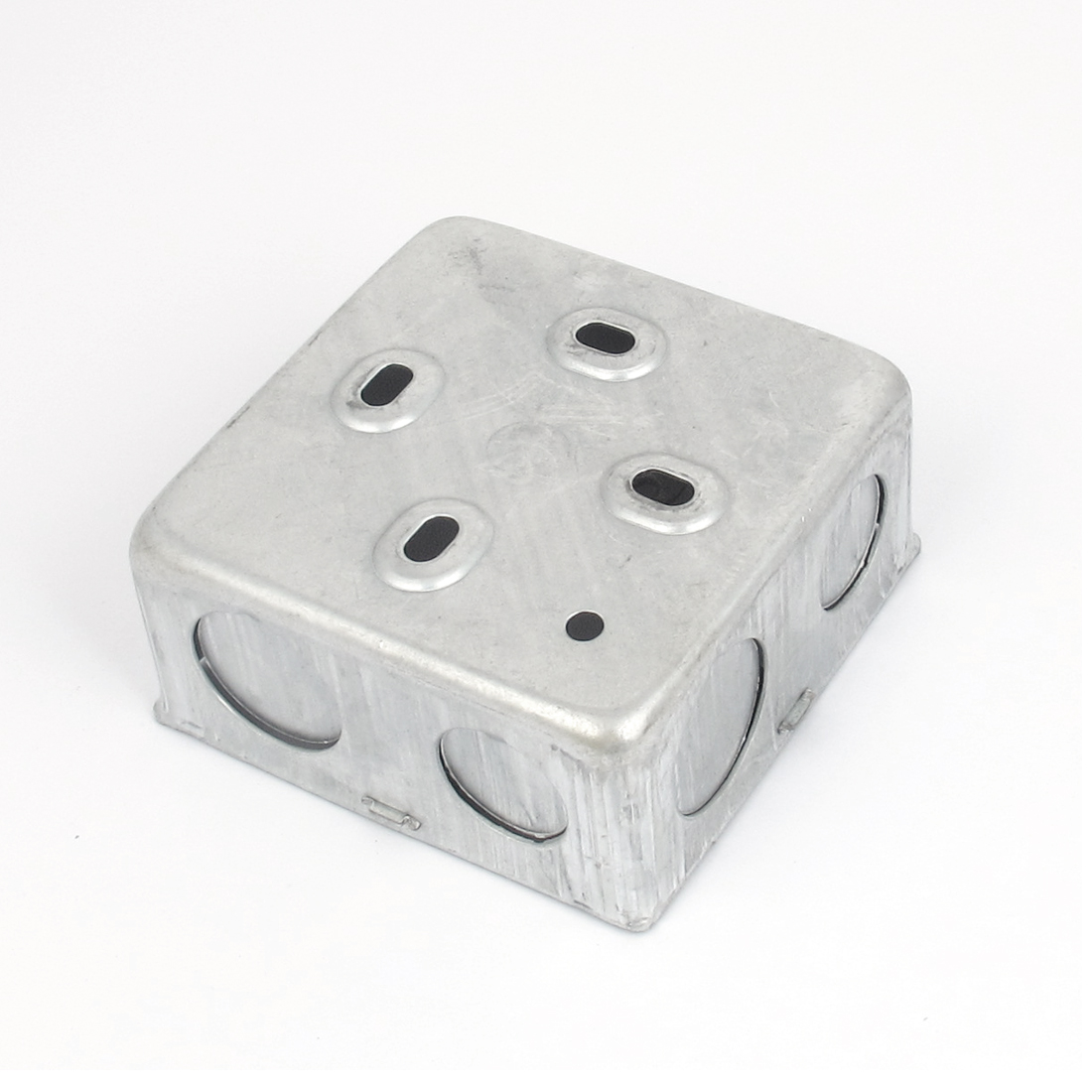 86mm x 86mm x 40mm Metal Switch Junction Project Box Socket