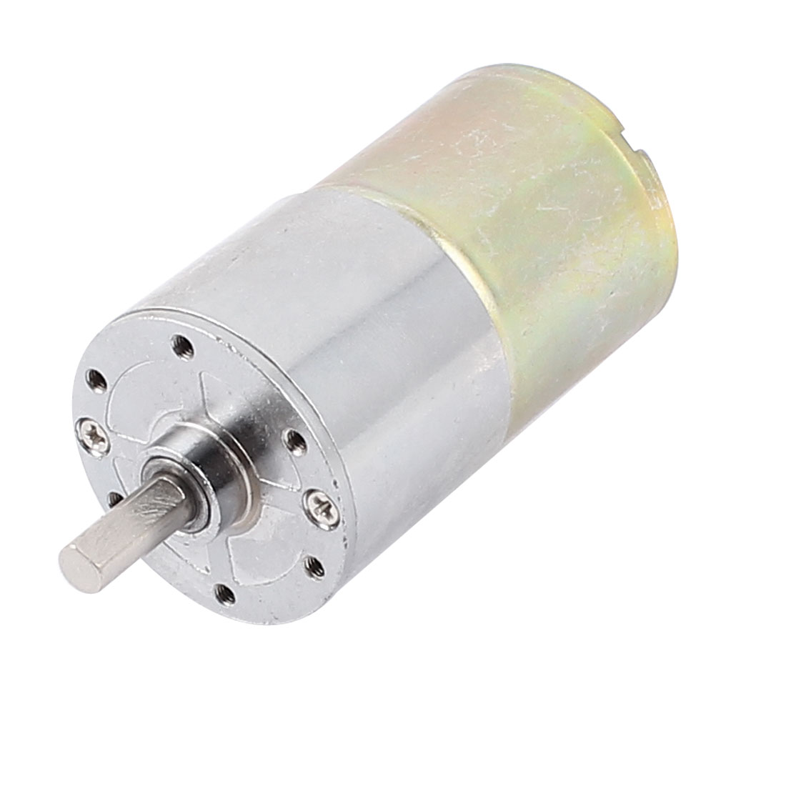 DC 12V 30RPM 6mm Dia Shaft Replacement Gear Box Speed Reducer Electric Motor