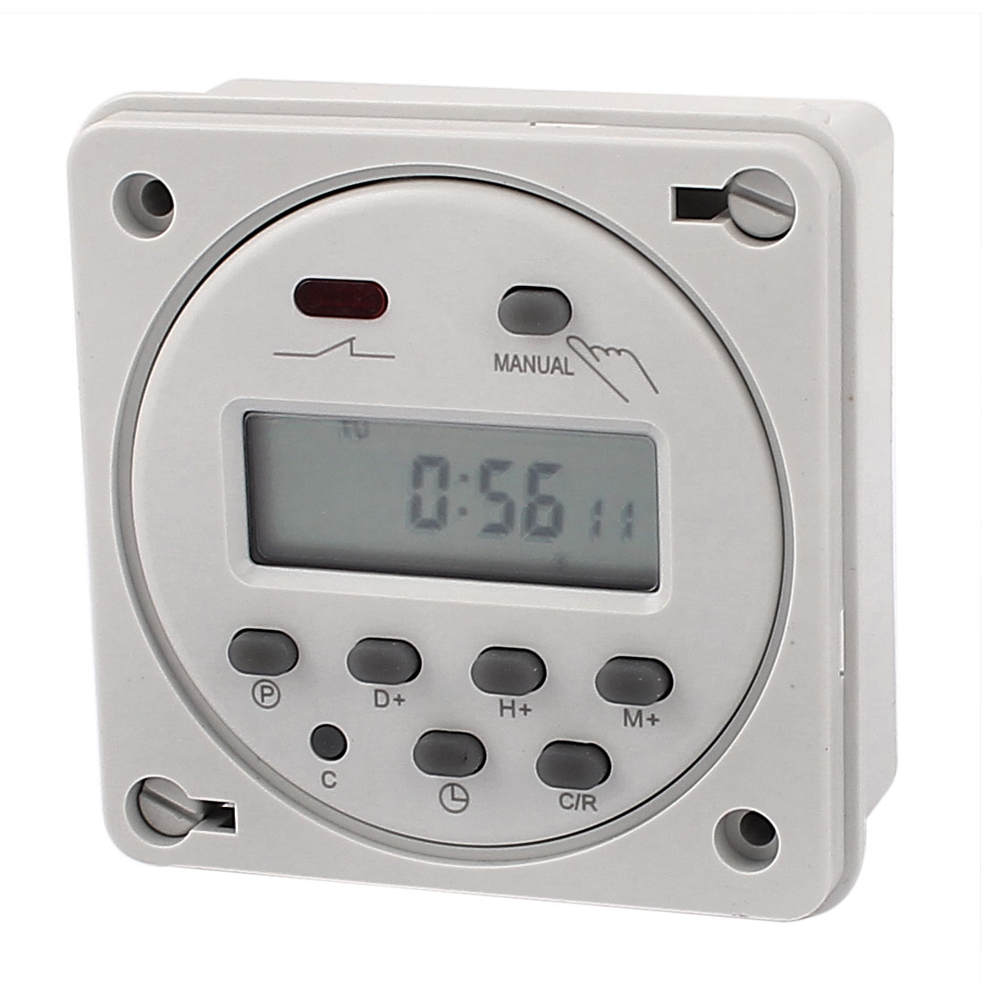 CN101A AC/DC12V LCD Digital Power Programmable Timer Time Relay Switch