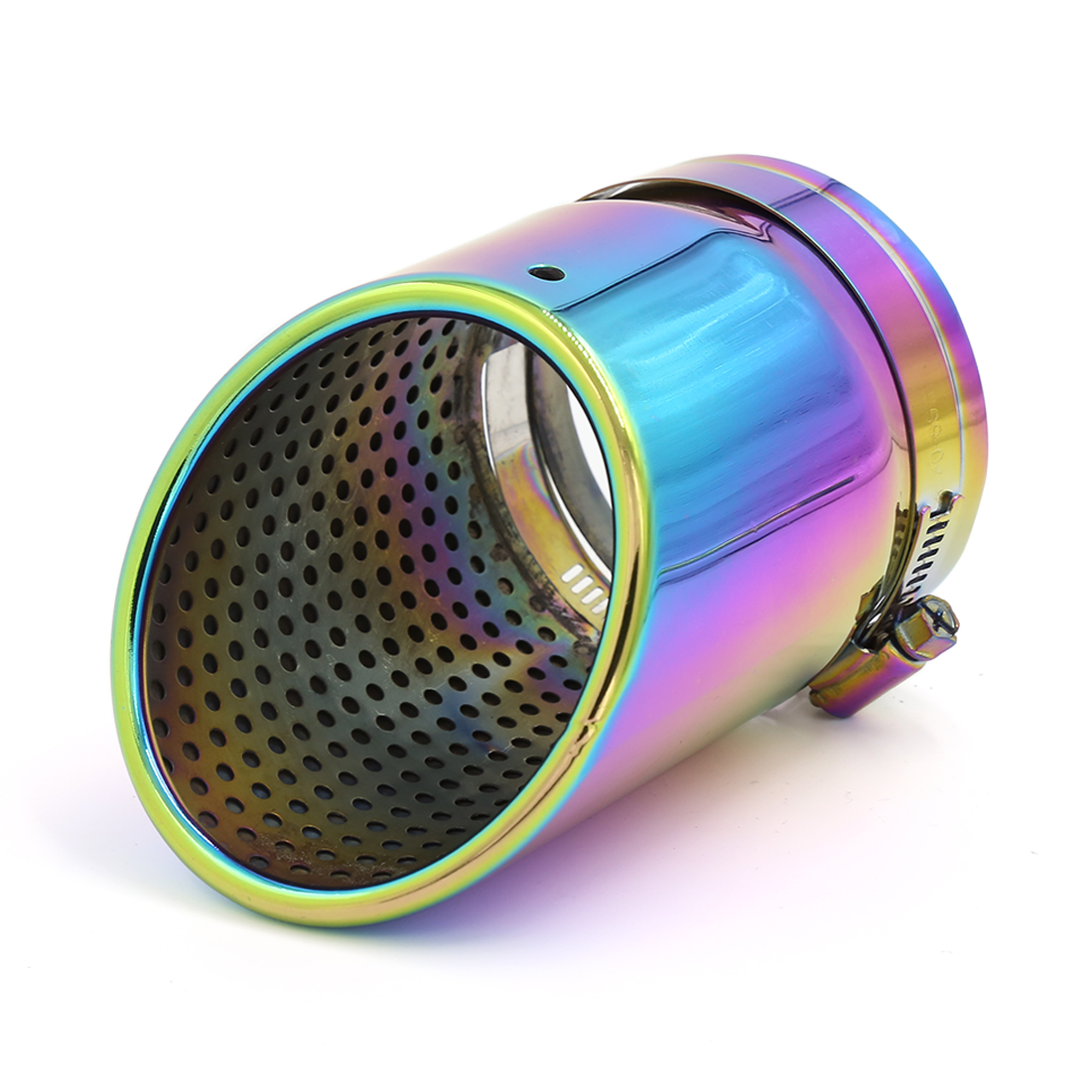 "77mm 3"" Inlet Dia Colorful Stainless Steel Exhaust Pipe Muffler Tip for Audi"