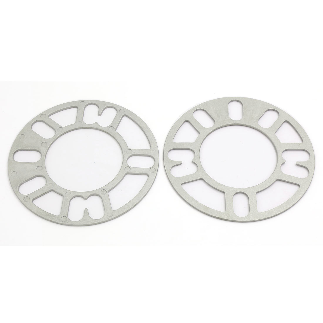 Universal 148mm Outer Dia 3mm Thickness Wheel Spacer Gasket 2 Pcs for Car Auto