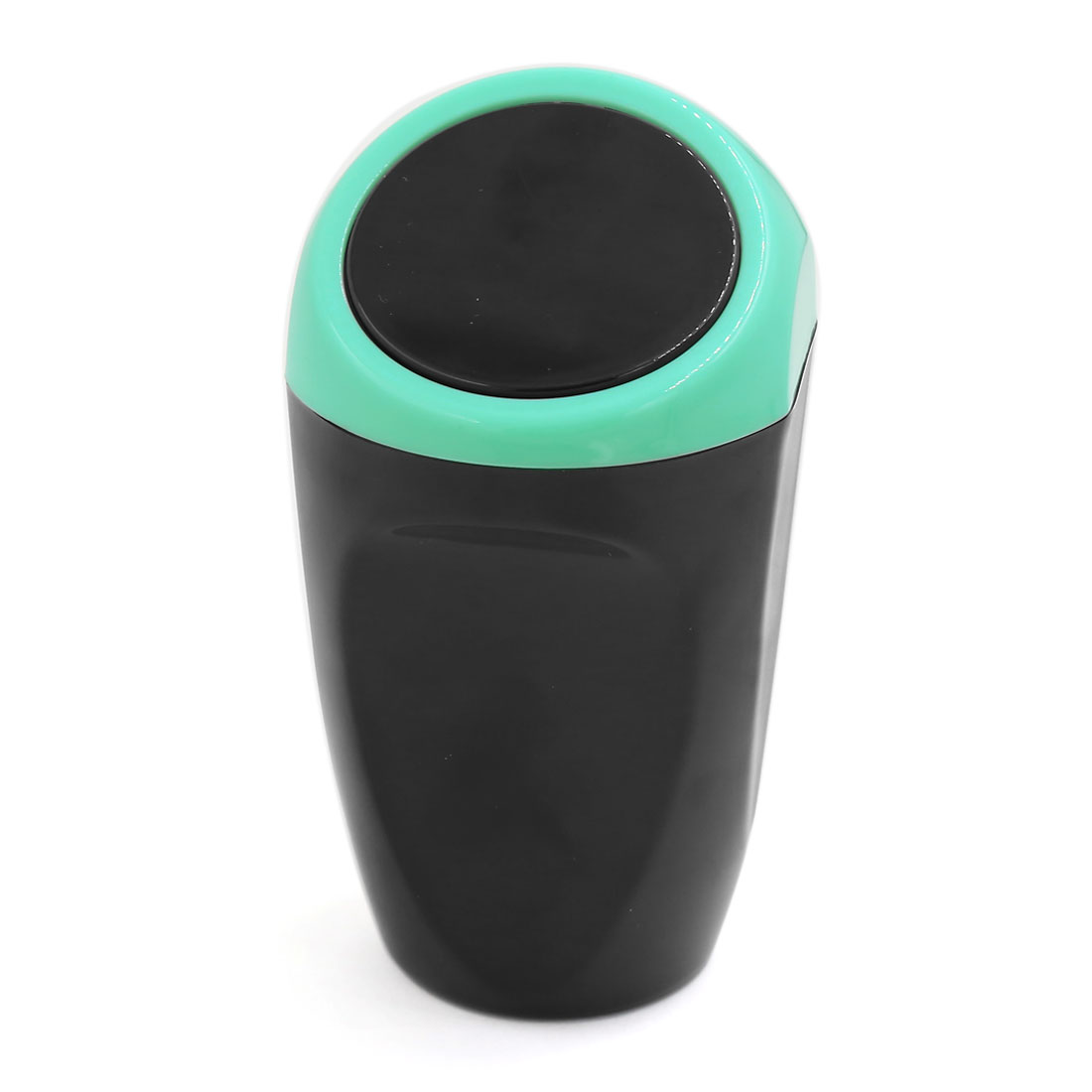 Home Car Mini Trash Rubbish Bin Can Garbage Dust Dustbin Holder Black Blue