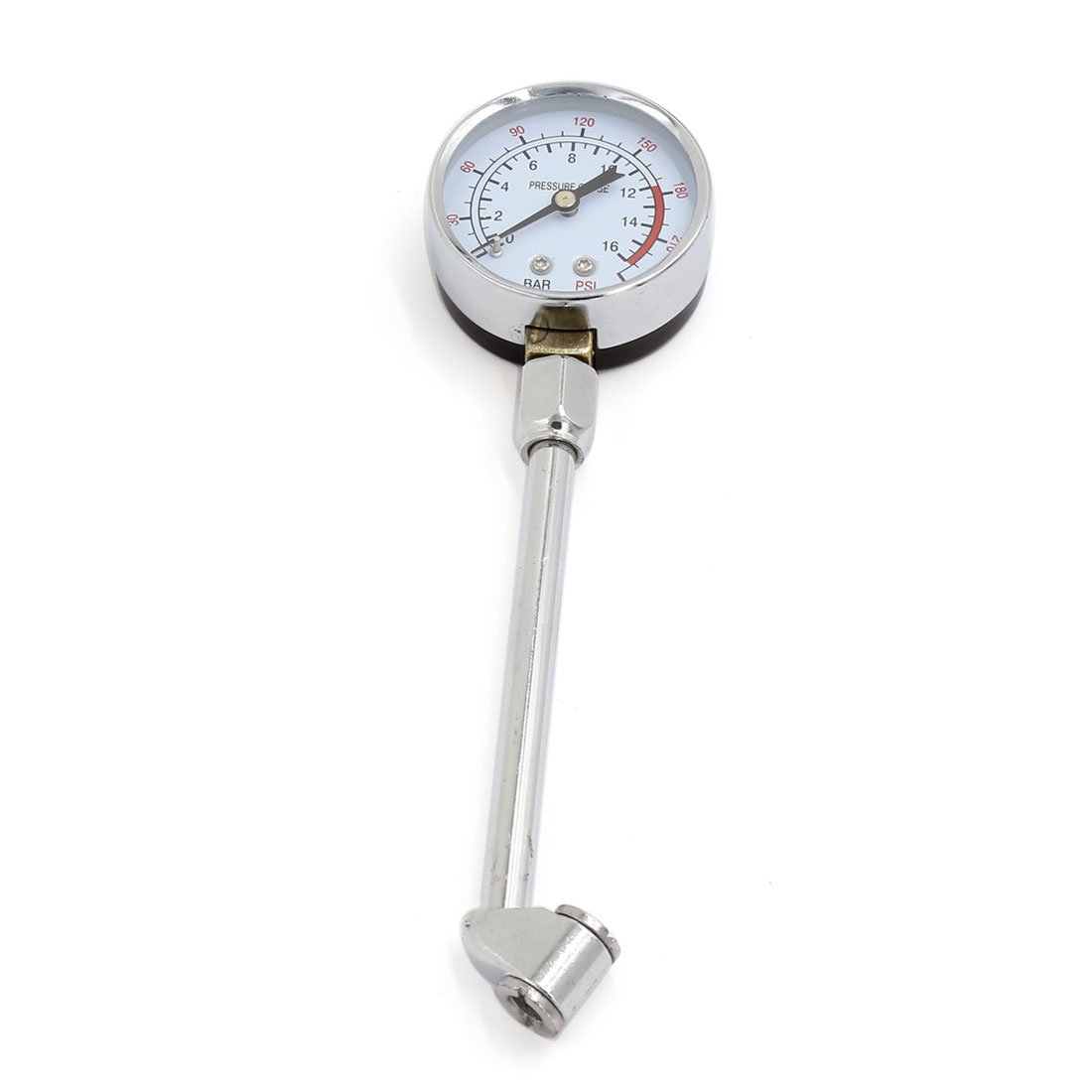 Car Truck Motorcycle Tyre Tire Air Pressure Gauge Dial Meter Tester 0-240 PSI