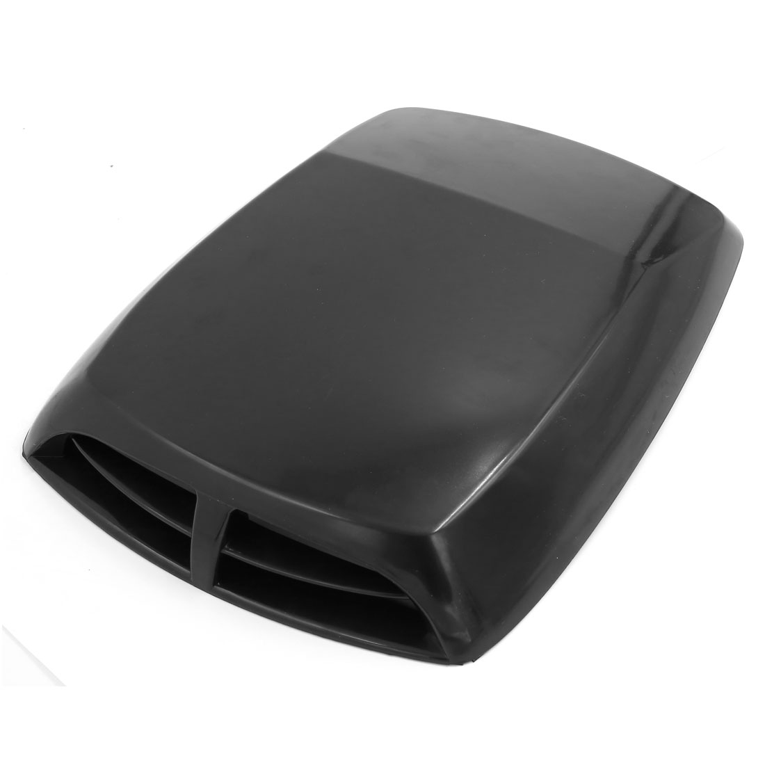 Universal Auto Car Decorative Air Flow Intake Hood Scoop Bonnet Vent Cover Black