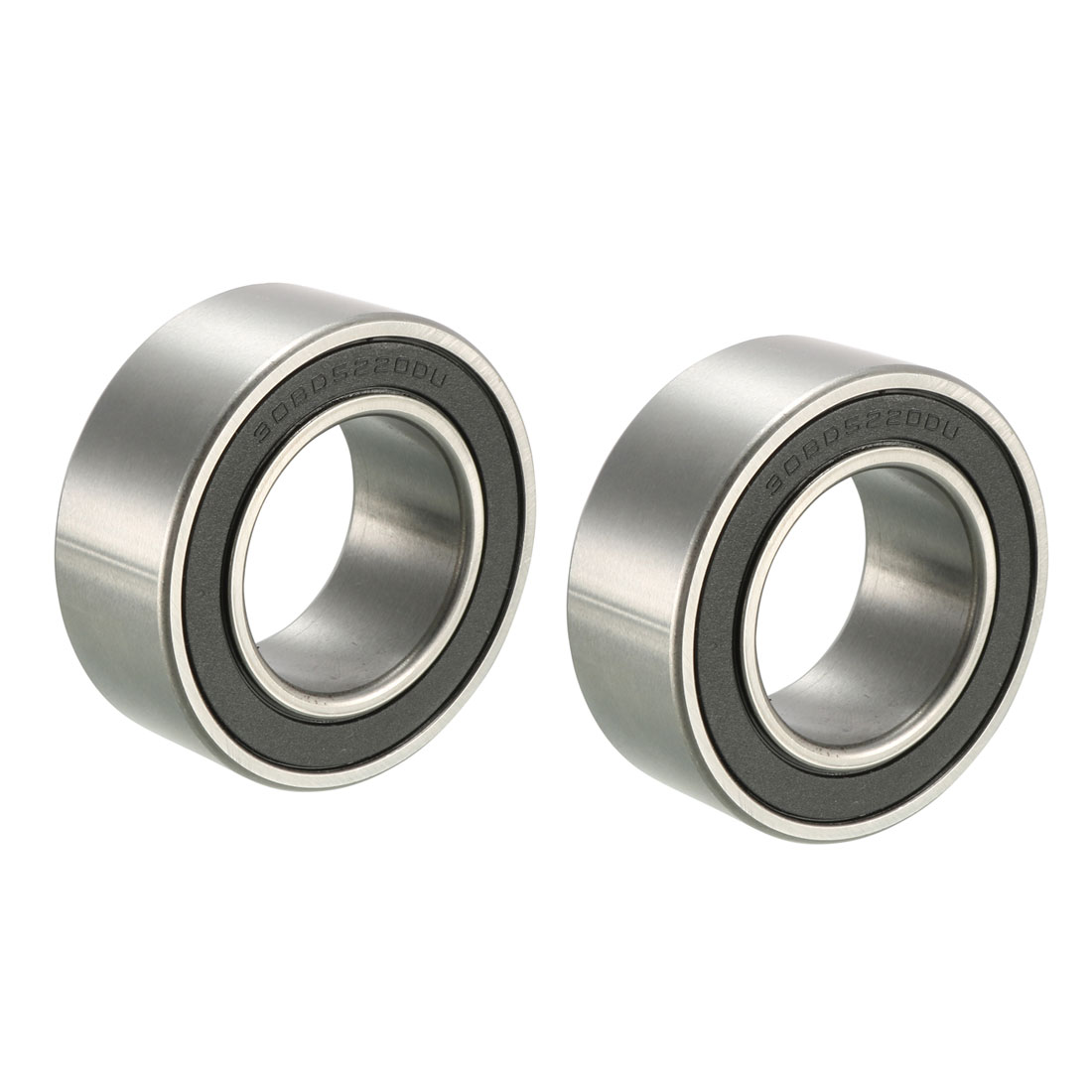 30BD5220 50mm Inner Dia 30mm OD Shielded Deep Groove Ball Bearing 2 Pcs