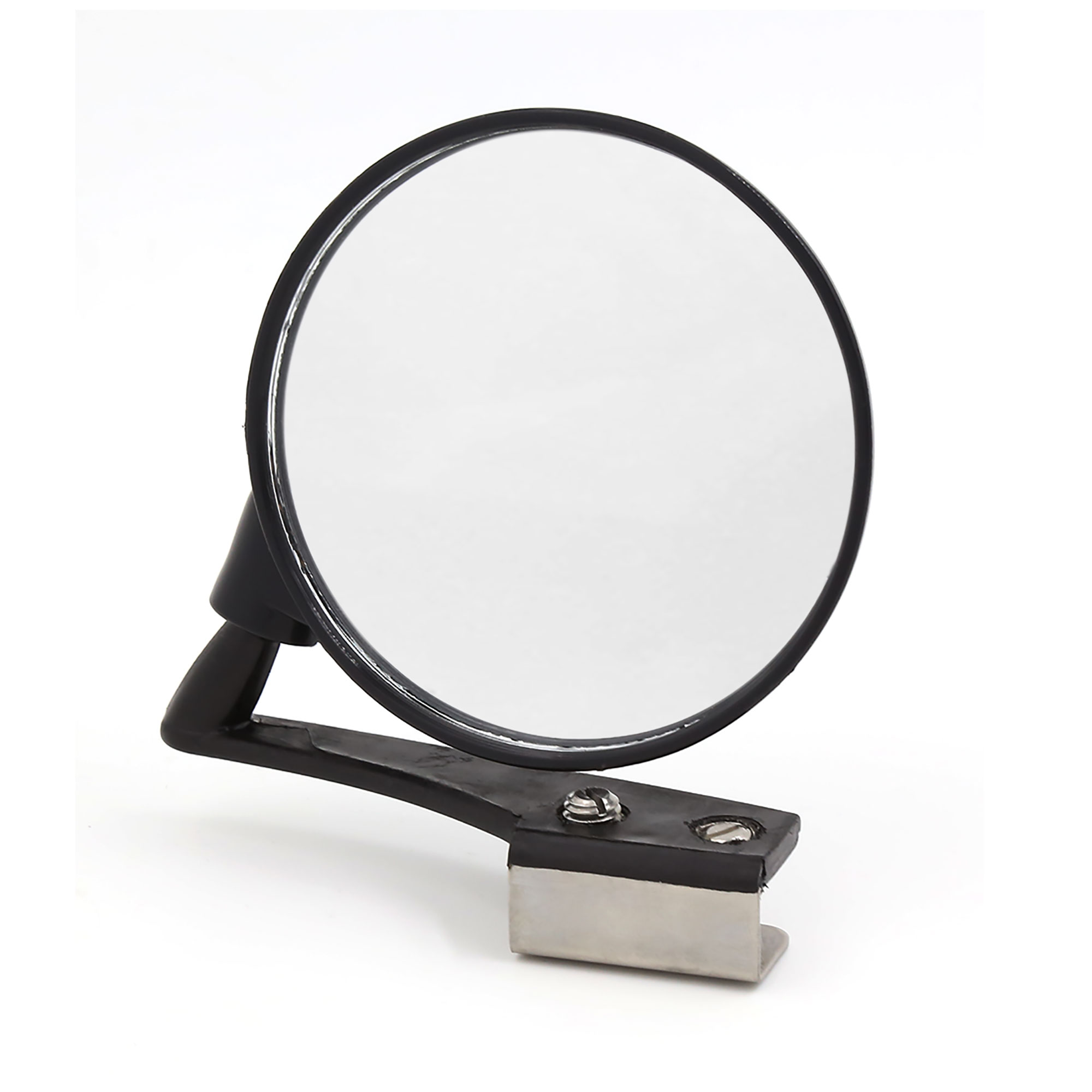 Universal Wide Angle Convex Blind Spot Front Left Rear View Mirror Black for Car