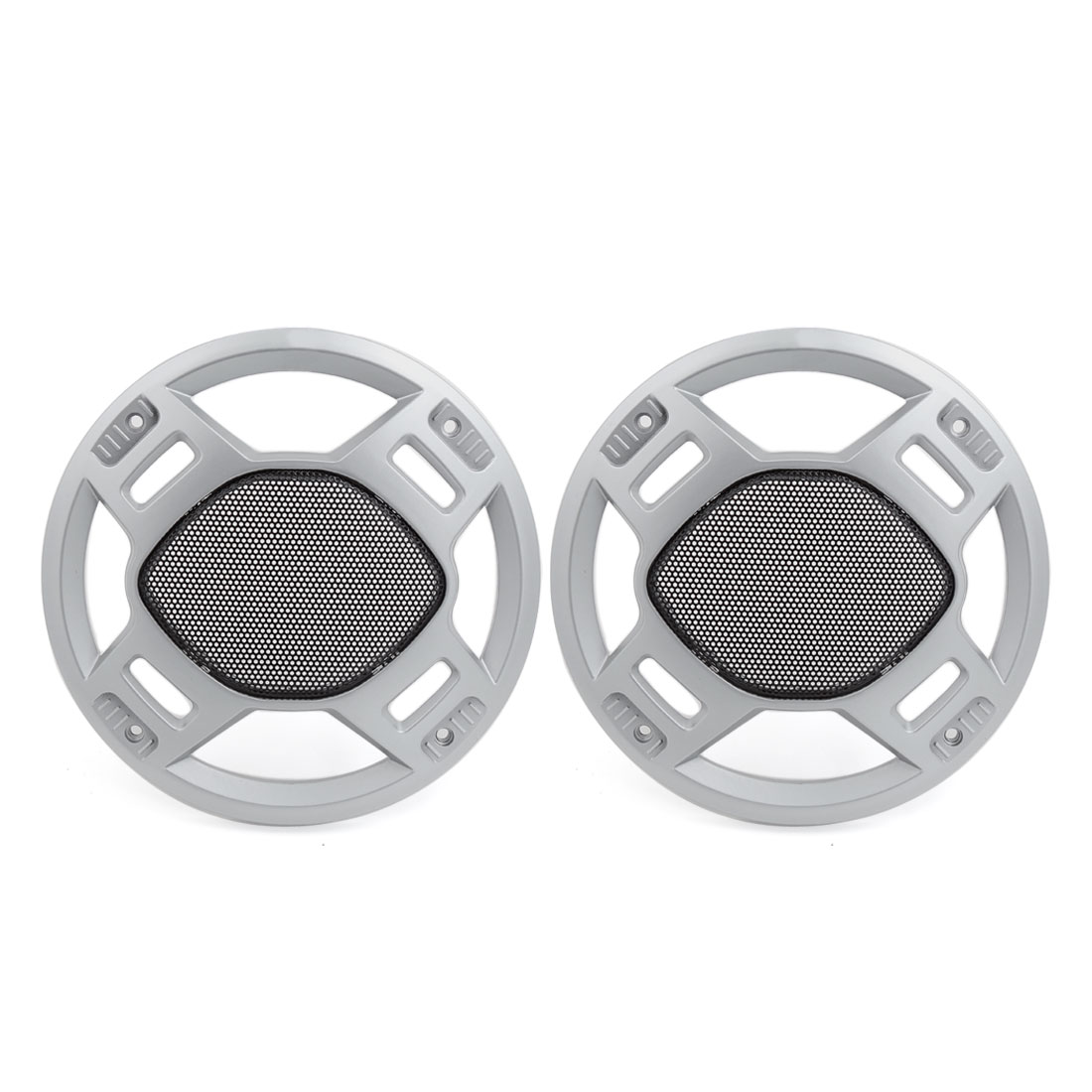 "Pair 8.8"" Dia Horn Dustproof Cover Hood Speaker Subwoofer Grill Protector for Car"