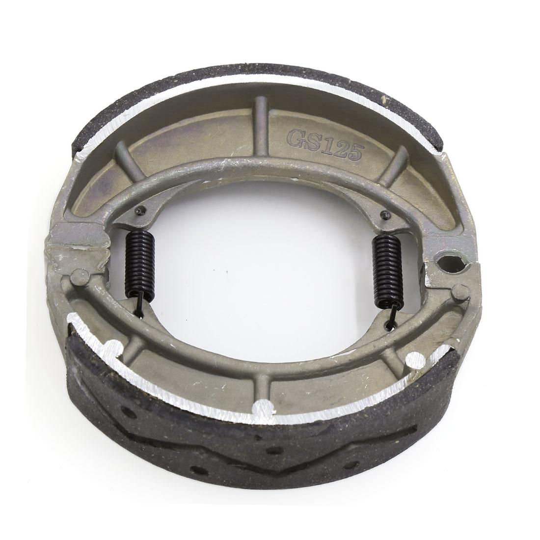 Electric Bicycle Motorcycle Metal Ceramic Spring Brake Shoes Drum Pad for GS125