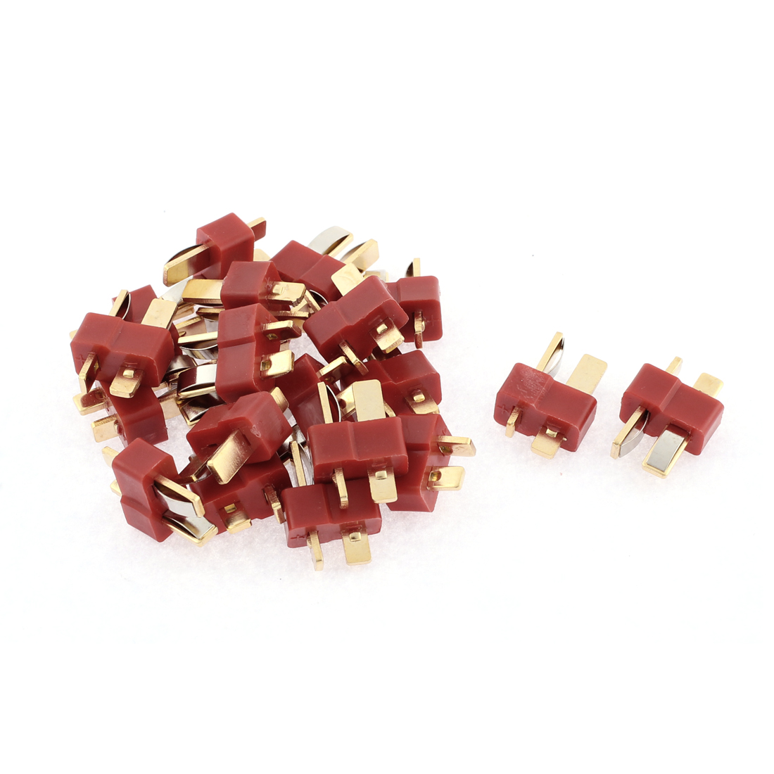 20 Pcs T Male Connectors for RC Airplane Aircraft LiPo Battery ESC