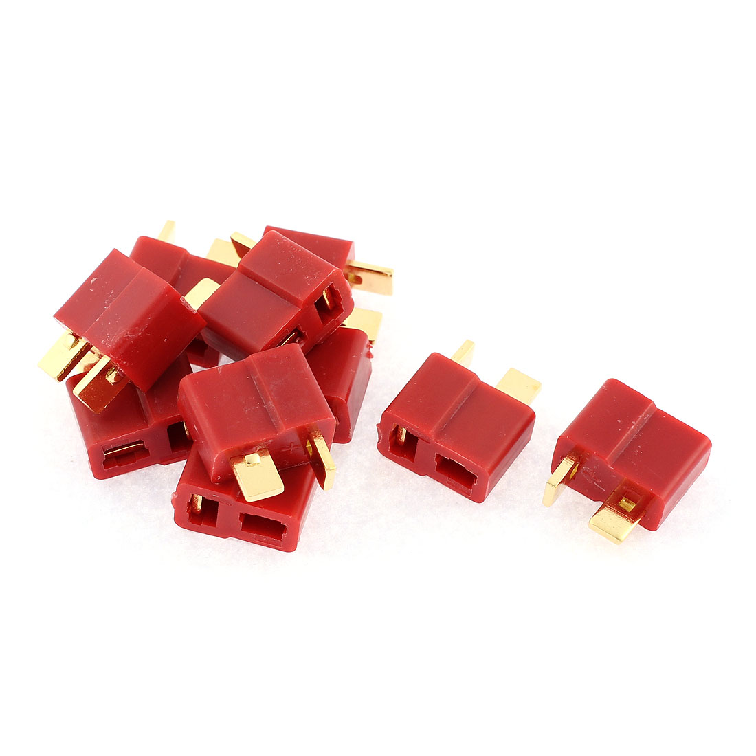 10 Pcs T Female Connectors for RC Airplane Aircraft LiPo Battery ESC