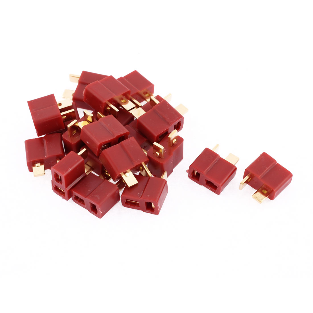 20 Pcs T Female Connectors for RC Airplane Aircraft LiPo Battery ESC