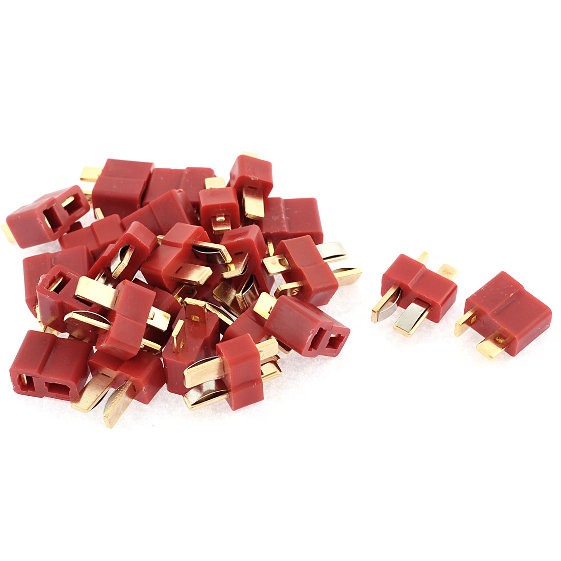 12 Sets T Male + Female Connectors for RC Airplane Aircraft LiPo Battery ESC