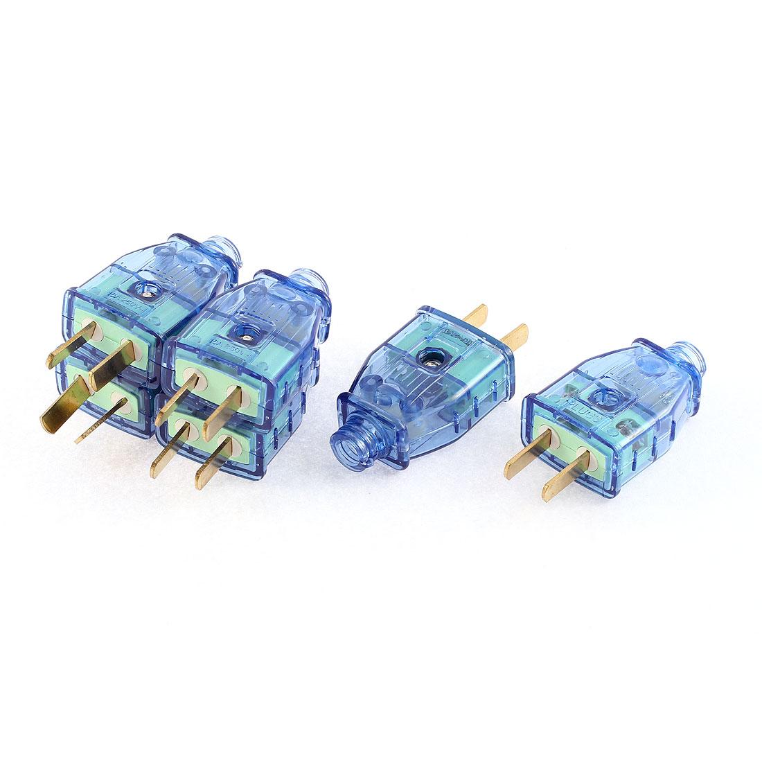 AC 250V 16A US AU Rotation Power Plug Adapter Connector 6 Pcs
