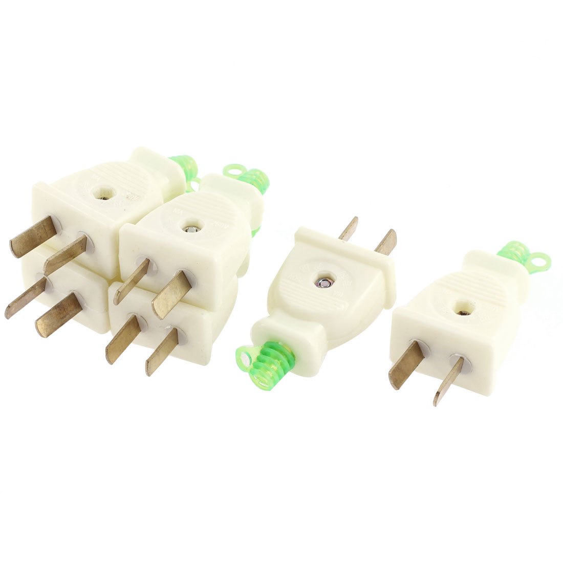 AC 250V 16A US AU Rotation Power Plug Adapter Connector 4 Pcs