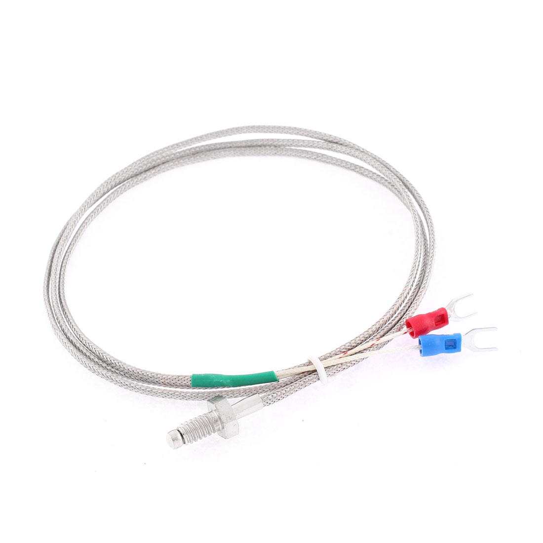 K Type 0-400C M6 Thread Screw Thermocouple Temperature Measurement Sensor 1M 3.3Ft