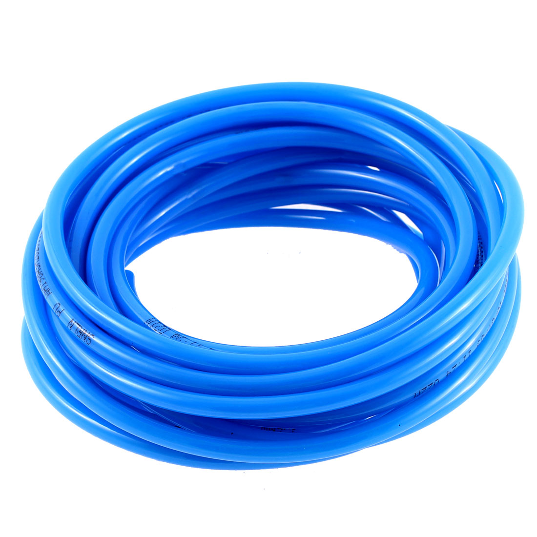 Air Compressor Polyurethane Pneumatic Hose Pipe Tube Blue 5.8m Long 6mm x 4mm