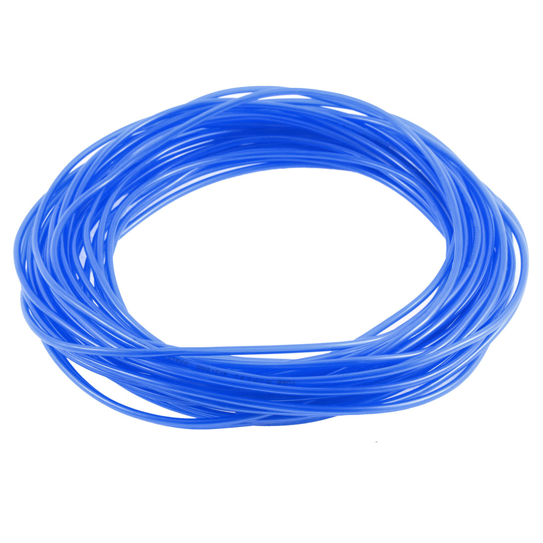 Polyurethane PU Air Tube Tubing Pipe Hose Blue 19M Length 4mm x 2.5mm Dia