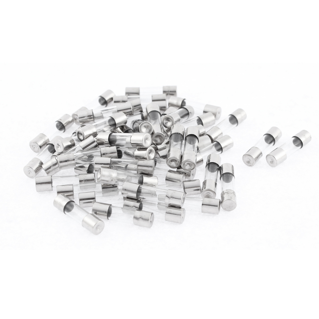 250V 0.25A Quick Fast Blow Glass Fuses 5mm x 20mm 50Pcs