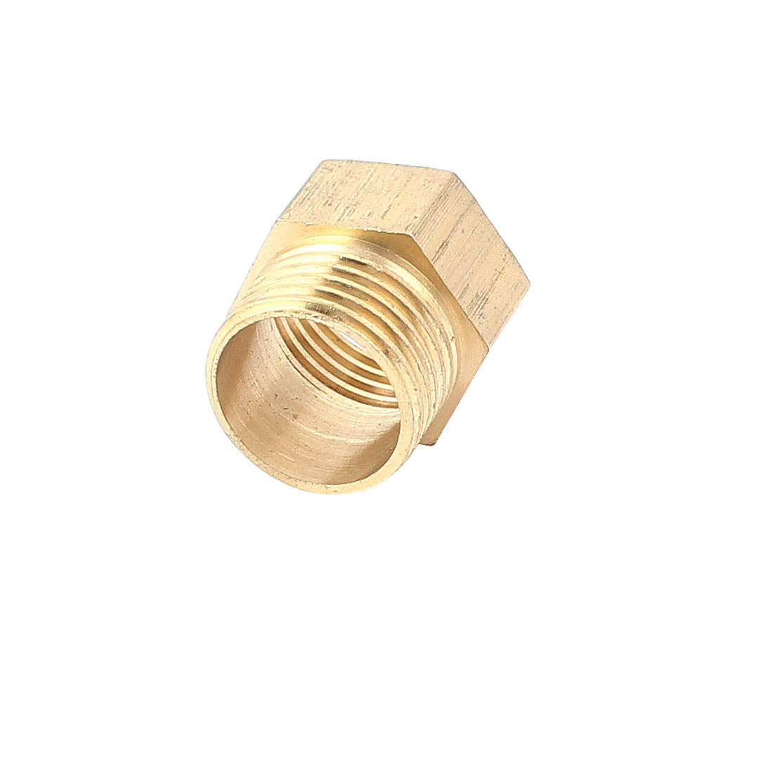 Brass Hex 1/2BSP Male to Female Thread Pipe Fitting Connector
