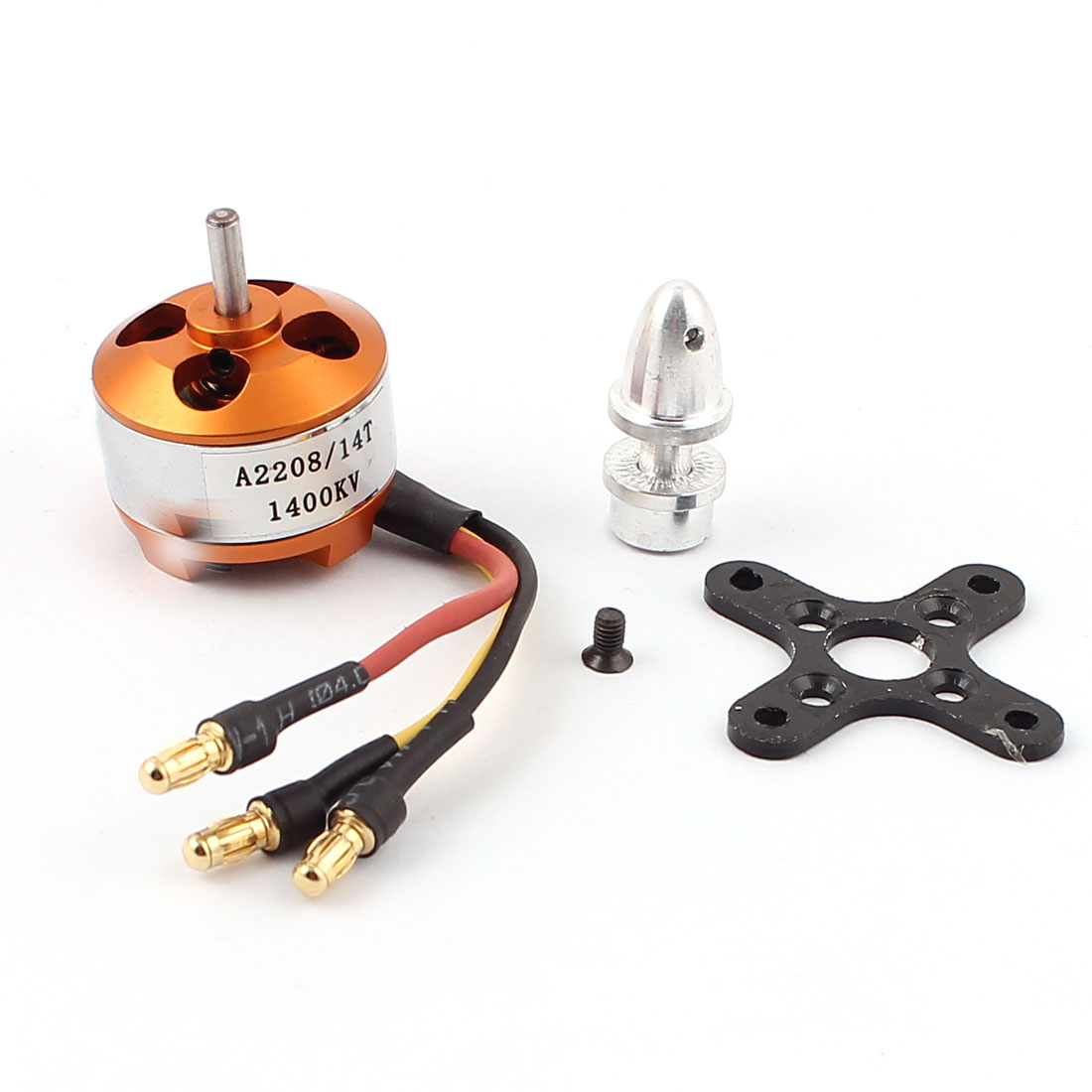 A2208 1400KV Electric Brushless Motor for RC 4-Axis Multicopter