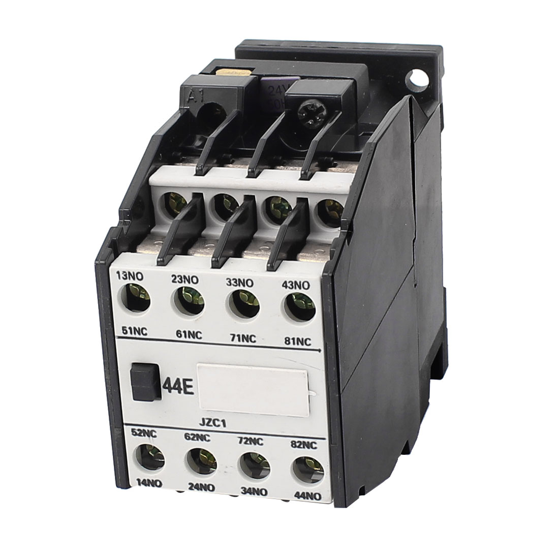 JZC1-44 50Hz 24V Coil 3 Phase 4NO + 4NC AC Contactor Relay