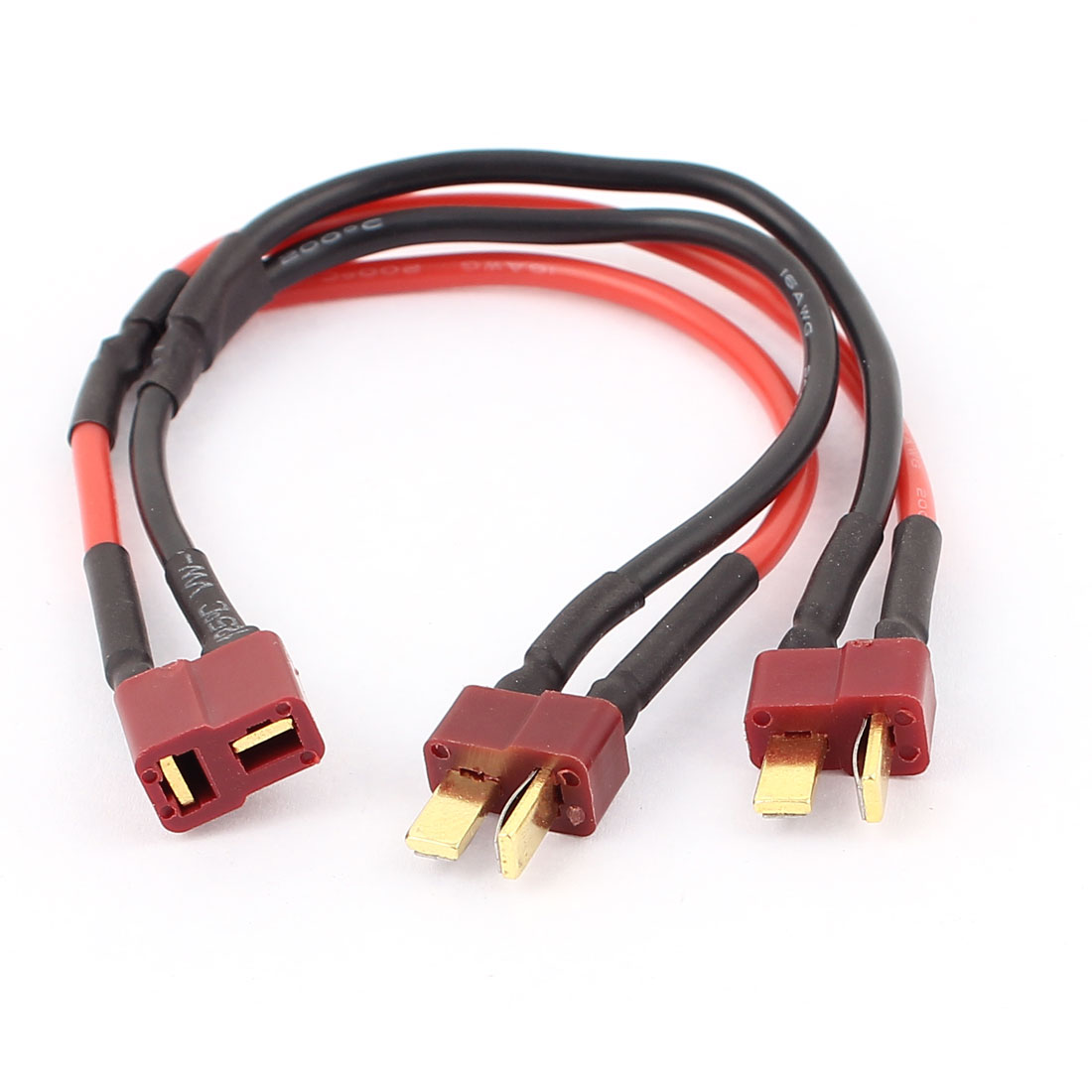 Female to T Male Connector Wire for RC LiPo Battery