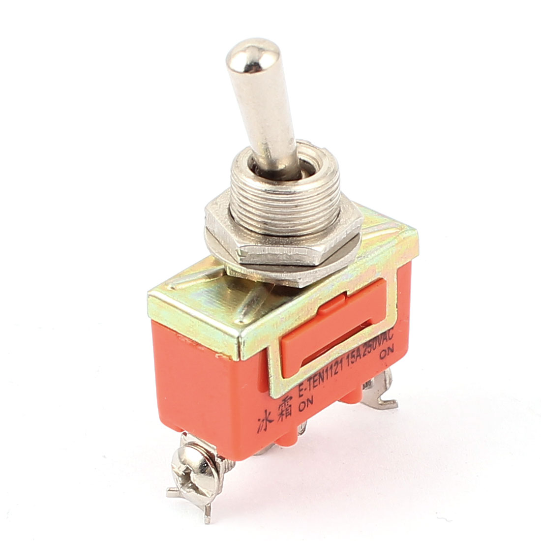 AC 250V 15A ON/ON 3 Terminals 2 Position SPDT Latching Toggle Switch