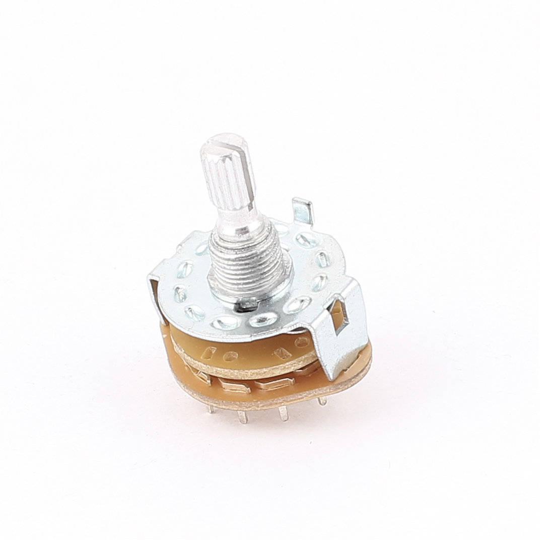 6mm Shaft 2 Poles 6 Position Band Channel Rotary Switch Selector